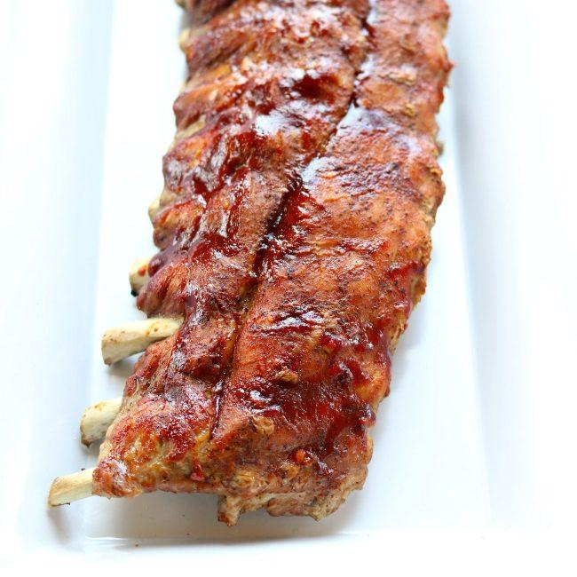 Instant Pot/Slow Cooker St Louis Baby Back Pork Ribs