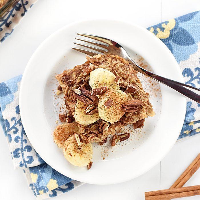 Banana Nut Baked Oatmeal