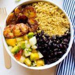 Cuban Quinoa Bowls With Pineapple Salsa