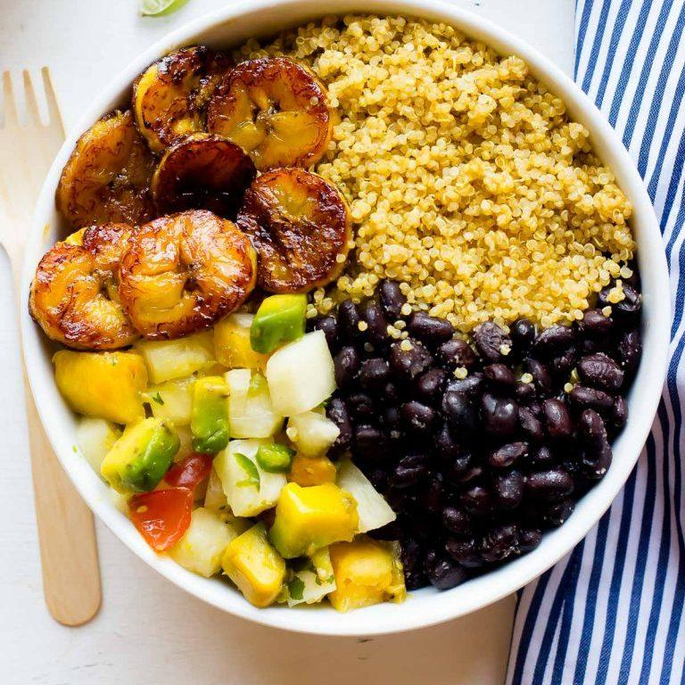 Cuban Quinoa Bowls With Pineapple Salsa
