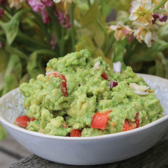 Guacamole With Moringa
