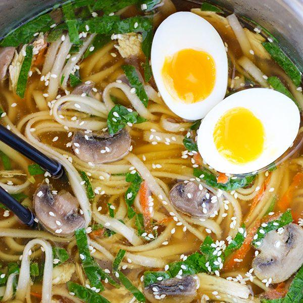 Instant Pot Soup Recipes from Broccoli Cheddar to Ramen to Beef Noodle