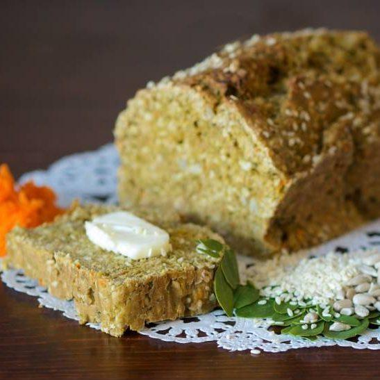 Moringa Bread: Whole Grain Moringa Bread Recipe