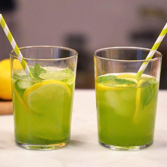 Moringa, Mint, Lemon & Lime Water