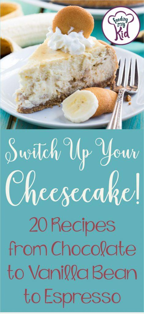 Who doesn't love cheesecake? These cheesecake recipes aren't your average New York style. Switch up your dessert with these decadent recipes.