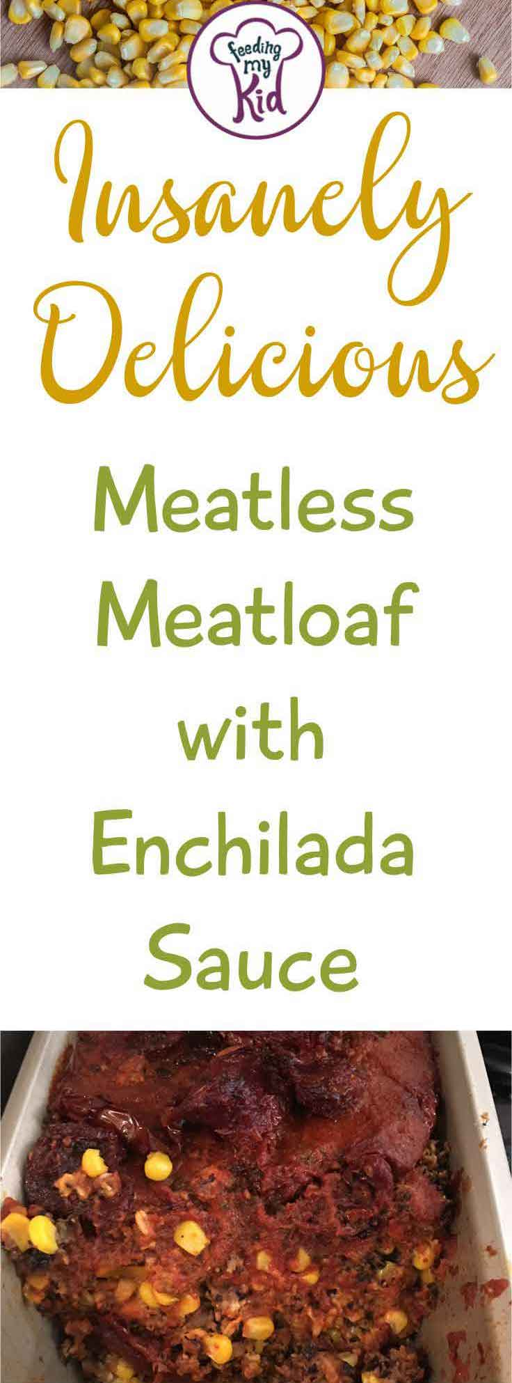 This meatless meatloaf is perfect for #MeatlessMonday! You'll love the flavors of this recipe so much you'll forget you're not even eating meat.