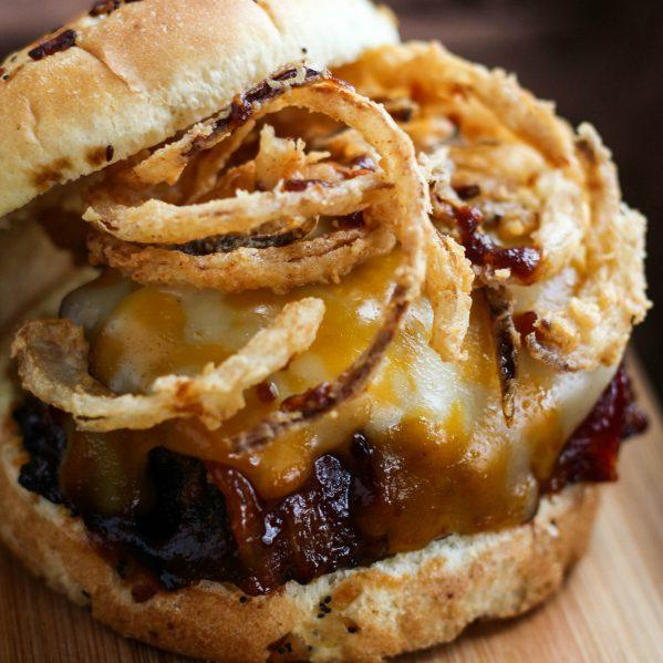 Bourbon Bbq Bacon Meatloaf Sandwich