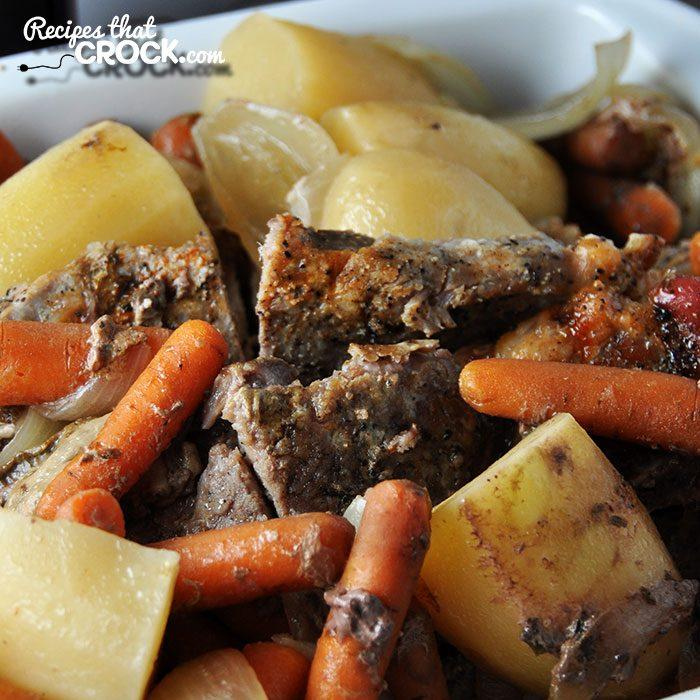 One-Pot Crock Pot Pork Dinner