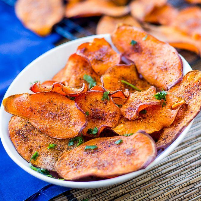 Perfect Sweet Potato Chips