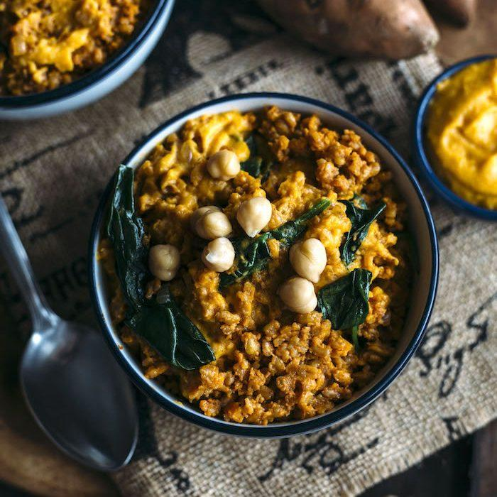 Sweet Potato Curry Farro