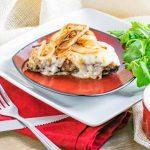 Swiss Meatloaf Stuffed Portobello Mushrooms