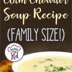 clam chowder recipe short