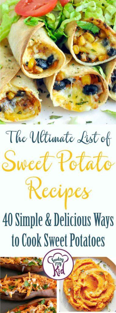 Sweet potatoes are so versatile. These sweet potato recipes are absolutely delicious and never boring. You'll love how easy they are to make!