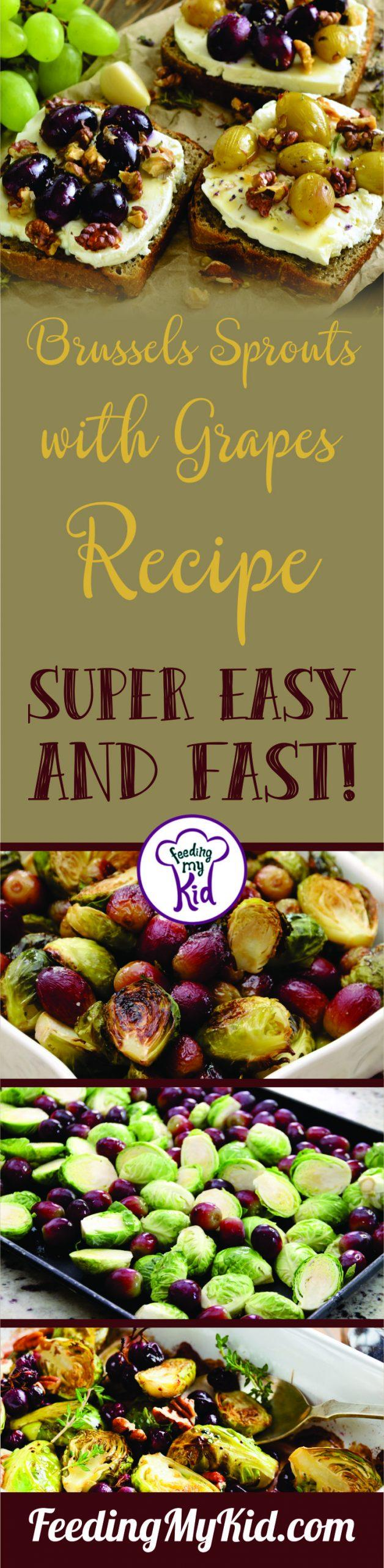 Balsamic and Honey Brussels Sprouts