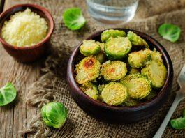 Recipe: Roasted Brussels Sprouts with Parmesan, Garlic and Lemon