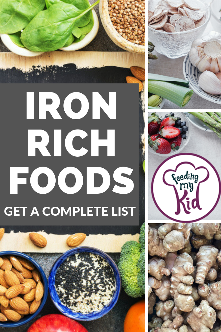 Best Iron Rich Foods For Kids